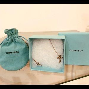 """Tiffany & Co. Elsa Peretti 16"""" silver necklace"""